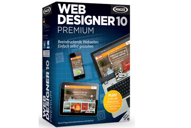 MAGIX Web Designer 10 Premium - Electronic Software Download 779147 - C2000