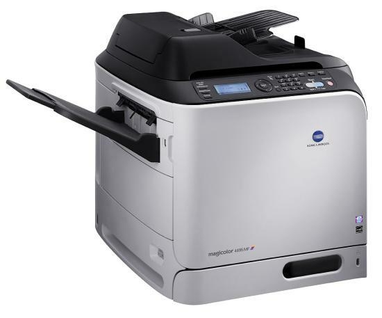 Konica Minolta 4695mf Colour Workgroup Network Laser Printer A0FD022 - Refurbished