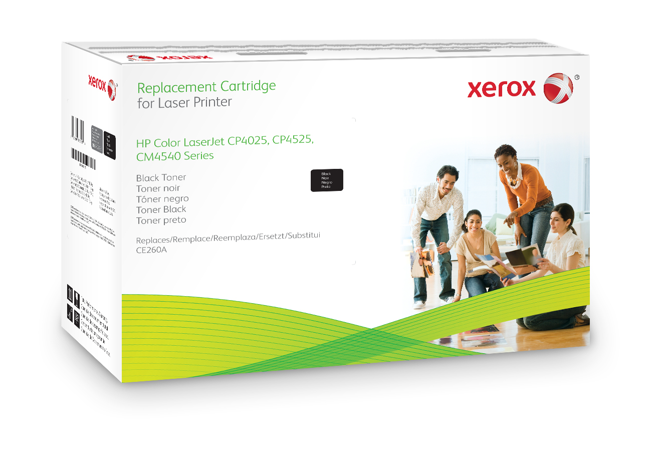 Xer106r02185   Xerox 106r02185 Black Toner    Replacement Cartridge                                        - UF01