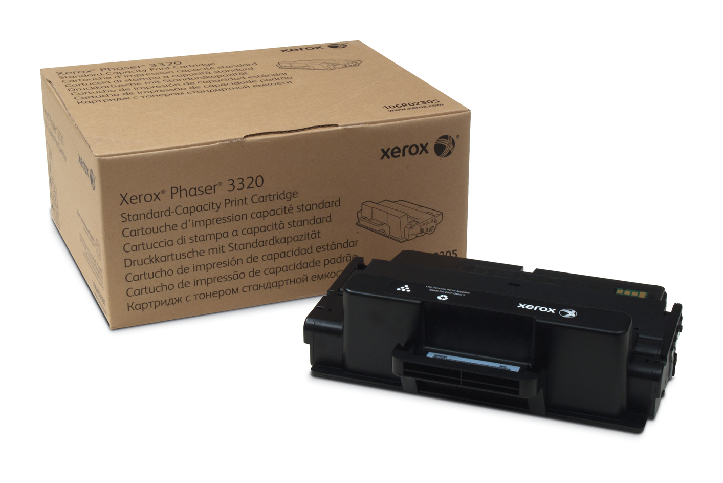 Xer106r02305   Xerox Phaser 3320 Standard     Toner Cartridge 5000pages                                    - UF01