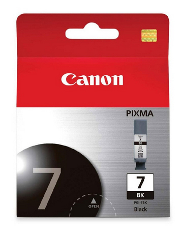 Can31114       Canon Bj Pgi-7 Black Ink       Black Ink                                                    - UF01