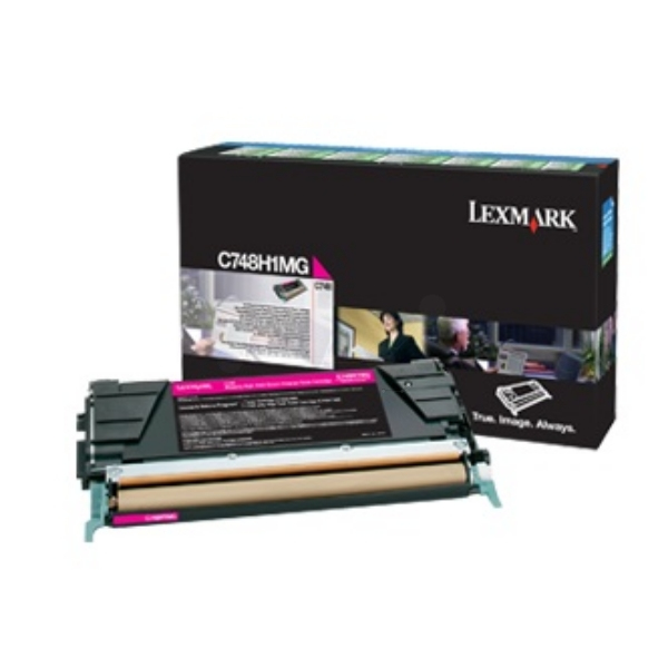 Lexc748h3mg    Lexmark C748 Magenta Toner     High Yield 10,000 Pages                                      - UF01