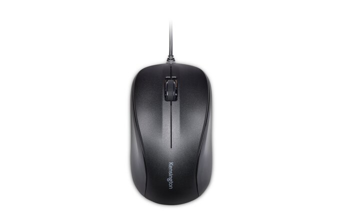 Kensington ValuMouse - Mouse - Optical - 3 Buttons - Wired - USB - Black K72110EU - C2000
