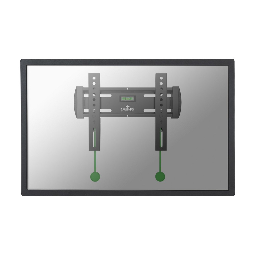 "NewStar - Wall Mount For LCD / Plasma Panel - Black - Screen Size: 10"" - 40"" NM-W120BLACK - C2000"