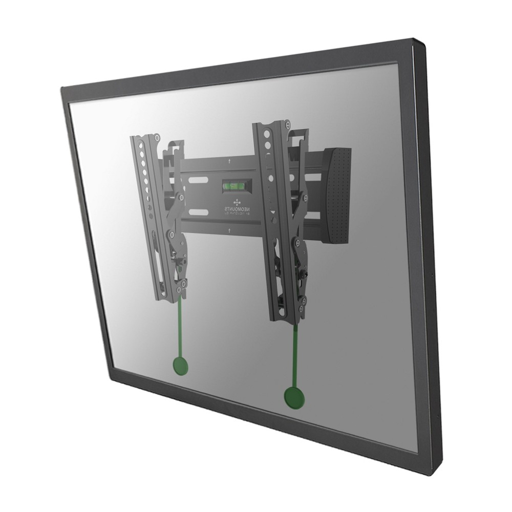 "NewStar NM-W125 - Wall Mount For LCD / Plasma Panel - Black - Screen Size: 10"" - 40"" NM-W125BLACK - C2000"