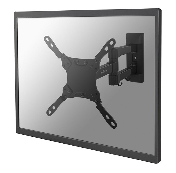 "NewStar NM-W225 - Mounting Kit ( Interface Plate, Dual Swing Arm Wall Plate ) For LCD / Plasma Panel - Black - Screen Size: 10"" - 32"" NM-W225BLACK - C2000"