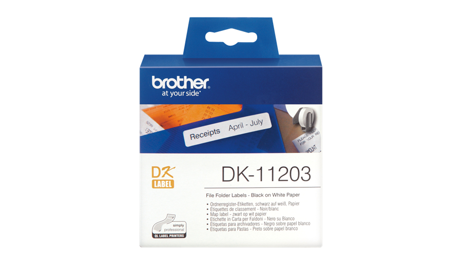 P-touch File Folder Labels Dk11203 - WC01
