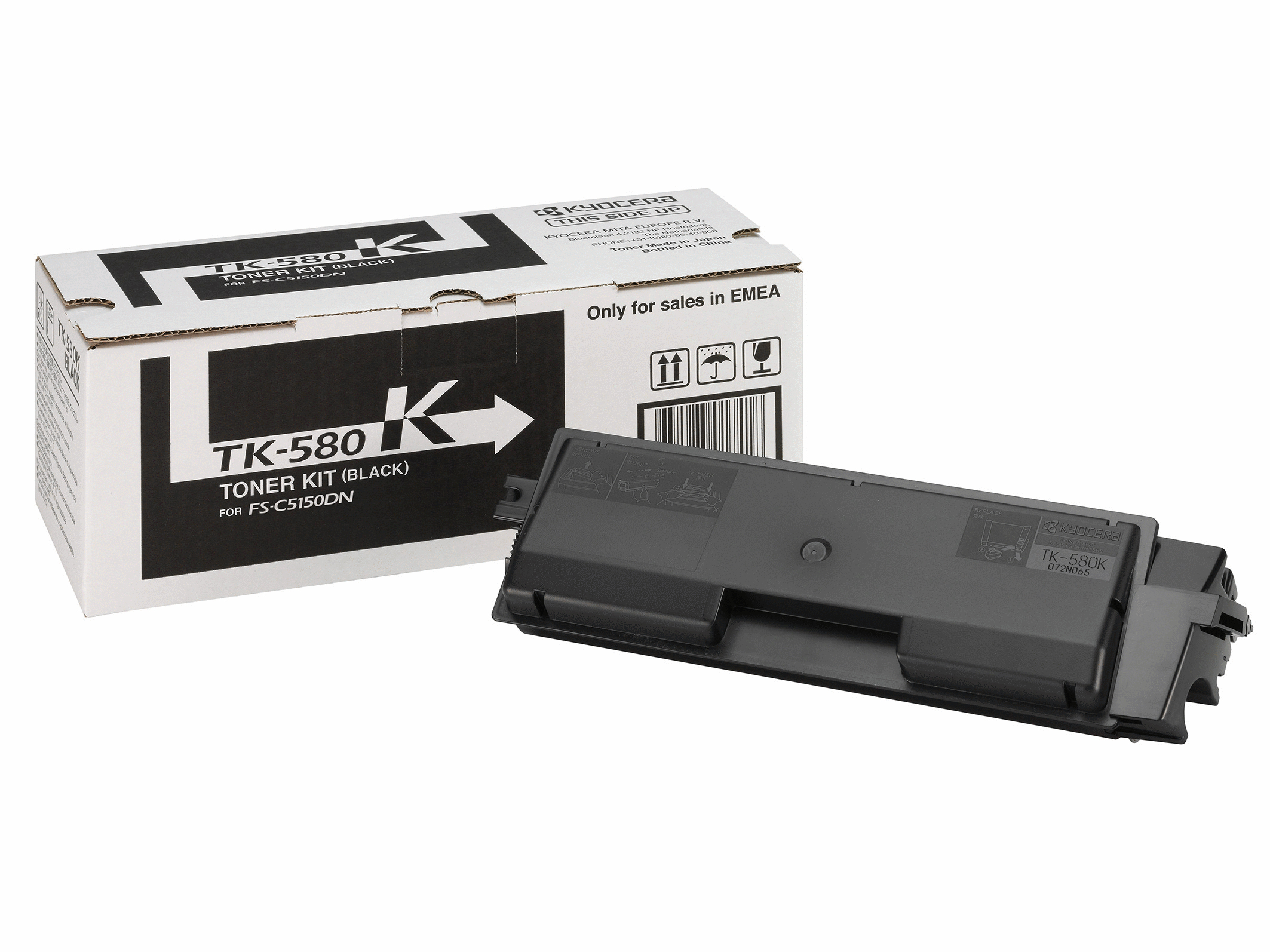 Black Toner Tk-580k - WC01