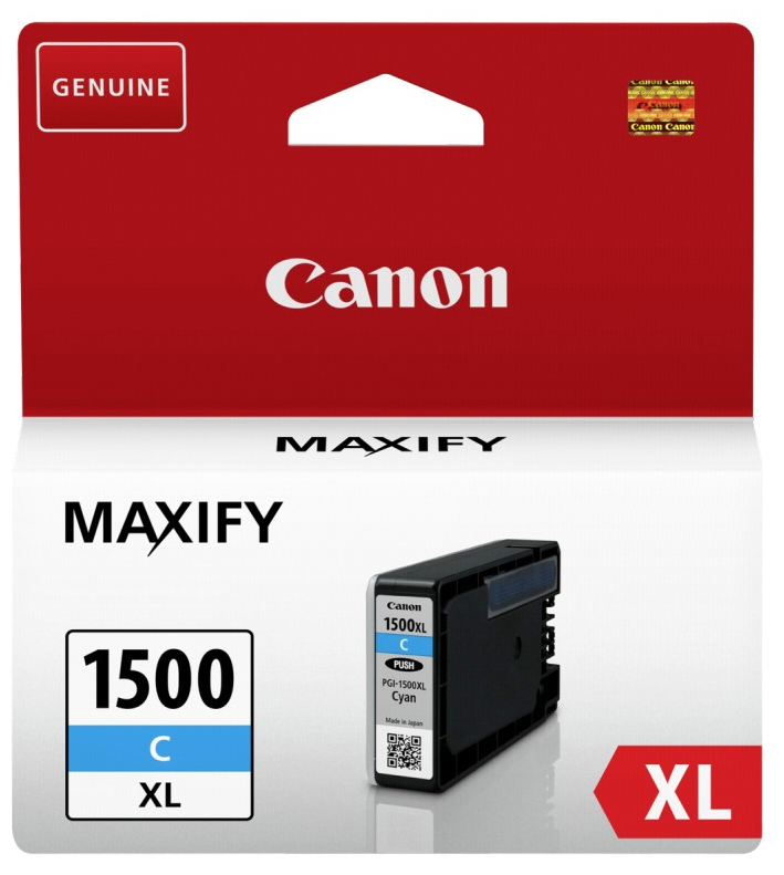 Can91822       Canon Pgi-1500xl Cyan Ink      Mb2050 Mb2350                                                - UF01