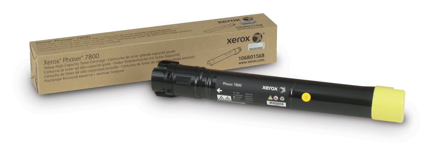 Xerox Phaser 7800 H/c Yellow Toner 106r01568 - WC01