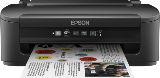 Epson WorkForce WF-2010W - Printer - Colour - Ink-jet - A4/Legal - 5760 X 1440 Dpi - Up To 34 Ppm (mono) / Up To 18 Ppm (colour) - Capacity: 100 Sheets - USB, LAN, Wi-Fi(n) C11CC40301 - C2000