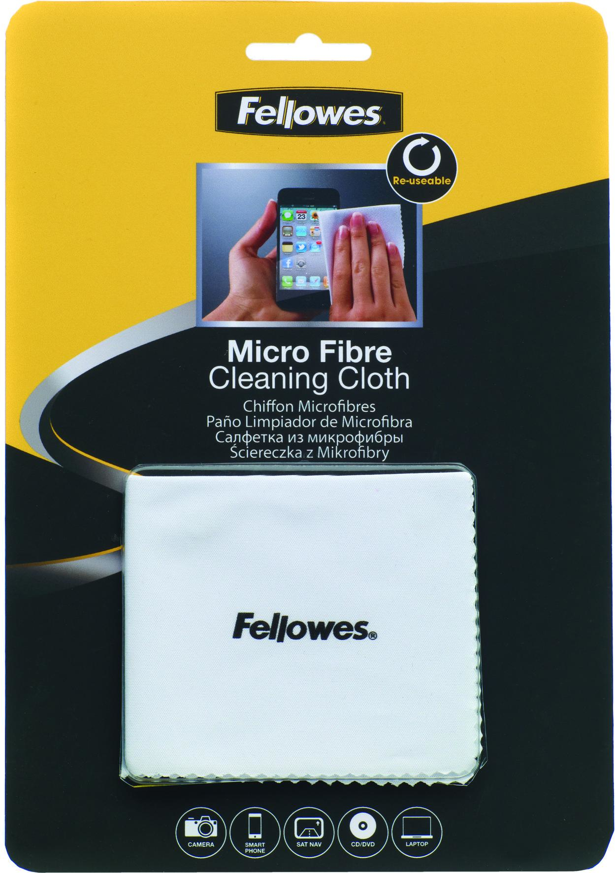 Fellowes Microfibre Cloth 9974506 - WC01
