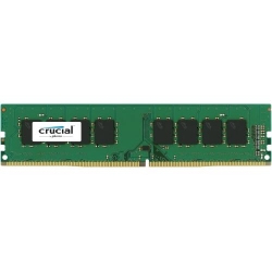 Crucial - DDR4 - 4 GB - DIMM 288-pin - 2400 MHz / PC4-19200 - CL17 - 1.2 V - Unbuffered - Non-ECC CT4G4DFS824A - C2000