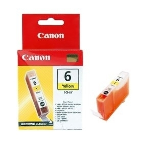 Canon Yellow Ink Tank 4708a002 Bci-6y - WC01