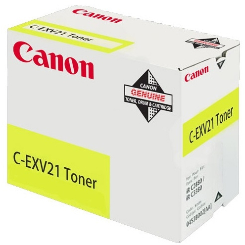 Can21585       Can Irc2880/3380 Yellow Toner  Yellow Toner C-exv21                                         - UF01