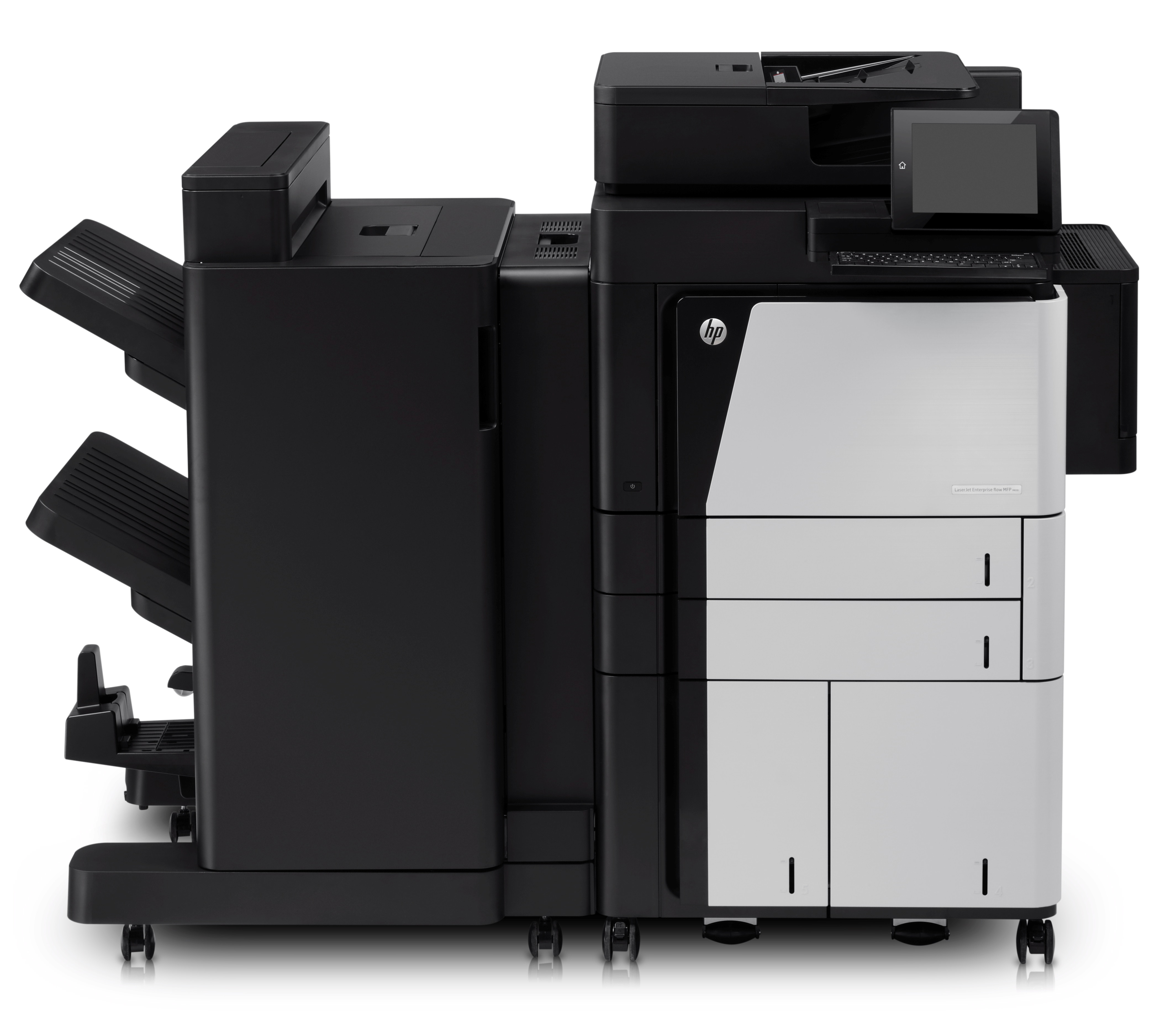 HP/ Laserjet Enterprise M830z MFP/ Mono/ A3/ 50ppm/ Network/ Duplex/ Fax/ 120GB HDD CF367A Exdemo (A1 Condition) - Graded