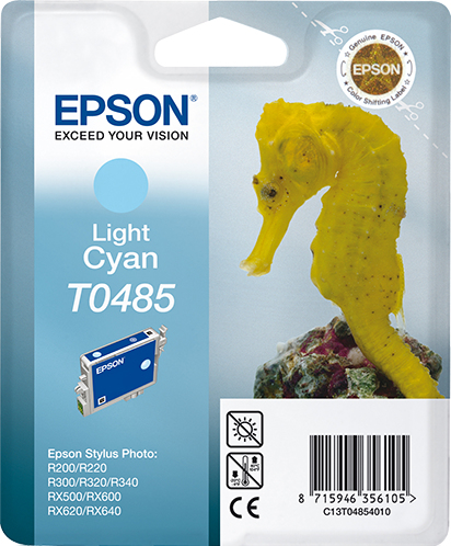 Epst048540     Epson T0485 Light Cyan Ink     Tylus Photo R200 R300 R320                                   - UF01