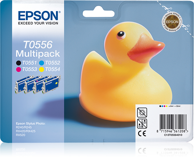 Epst055640ba   Epson T055 Multipack           Retail Solutions                                             - UF01