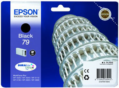 Epst79114010   Epson 79 Black Ink             Pisa Black Ink                                               - UF01