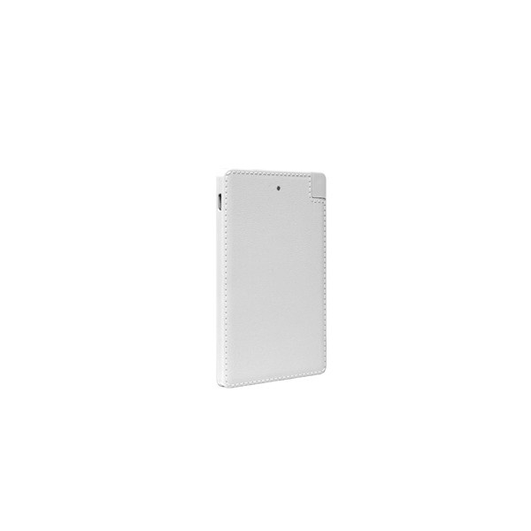 X370h37037     Neoxeo Power Bank 2500 Pl For  Smartphone White                                             - UF01