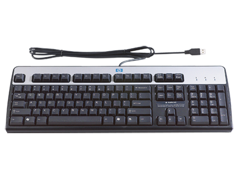 HP Inc. Keyboard Danish USB **Refurbished** DT528A#ABYB-RFB - eet01