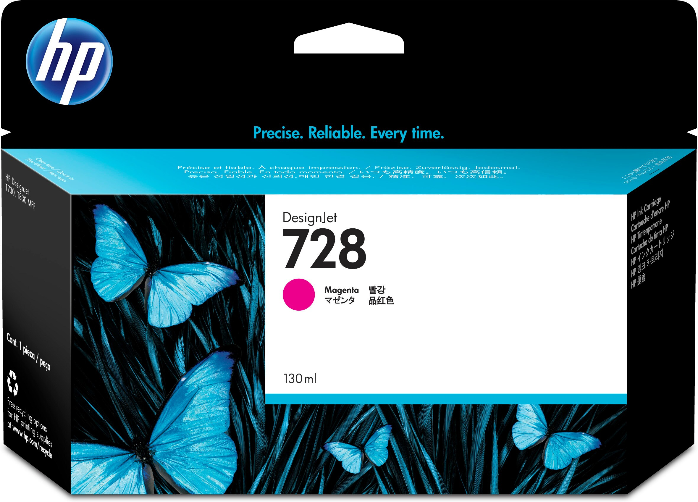 Hpf9j66a       Hp 728 130ml Magenta Ink       Hp 728 130ml Magenta Ink                                     - UF01