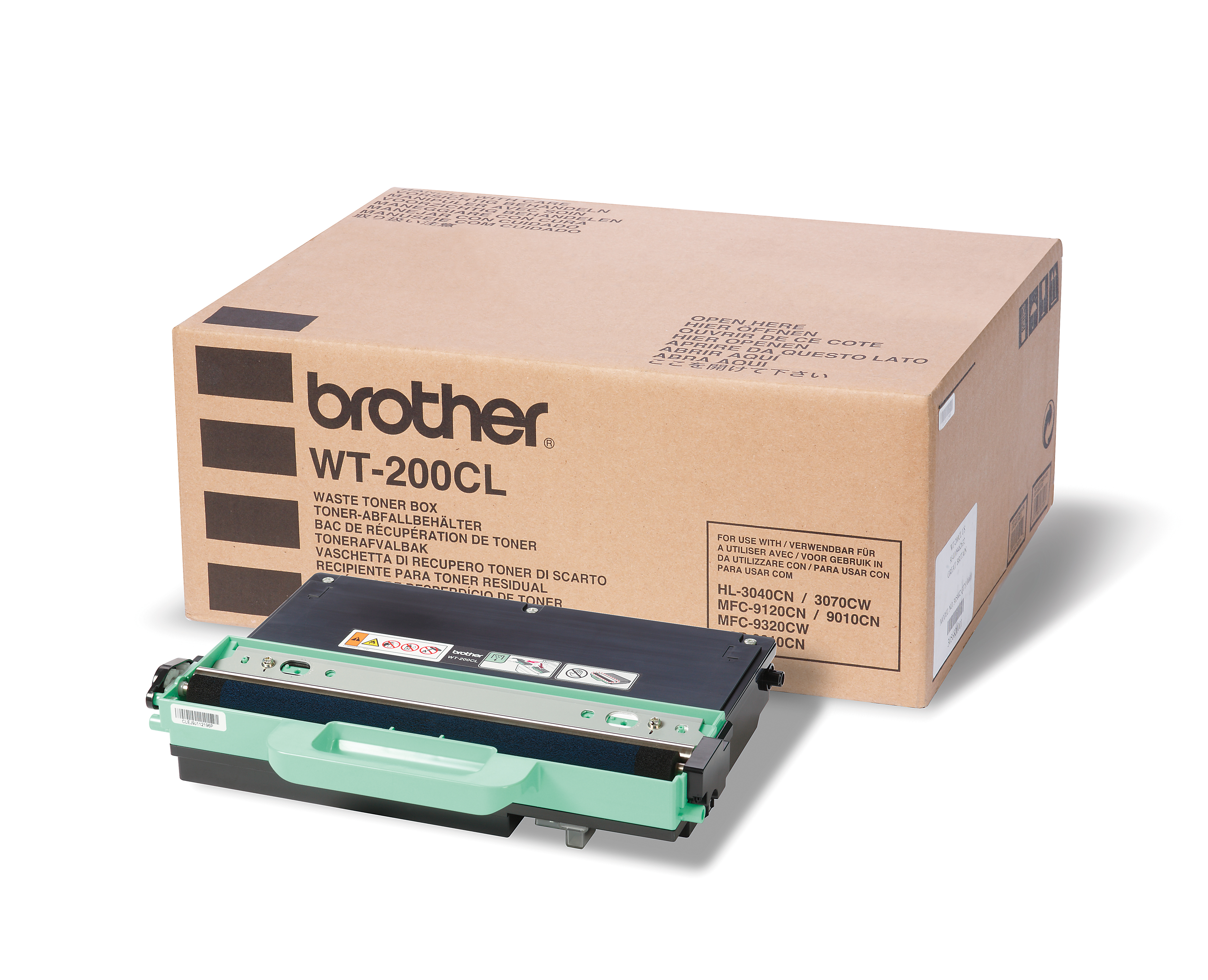 Brother Wt200cl Waste Toner Unit Wt200cl - WC01
