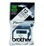 brother Black On White Labelling Tape 12mm Mk231bz - AD01