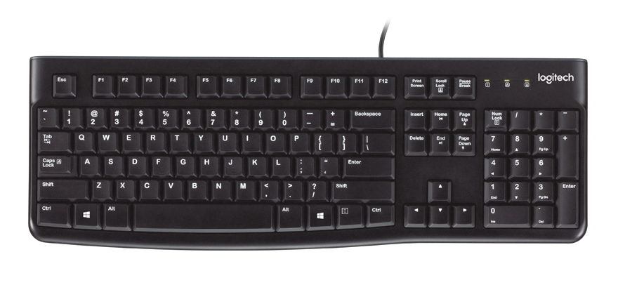Logitech Bus Keyboard K120 Uk 920-002524 - NA01