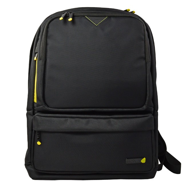 "TECHAIR 15.6"" CASUAL BACKPACK IN BLACK WITH LATERAL PROTECTION TAN3711V2 - C2000"