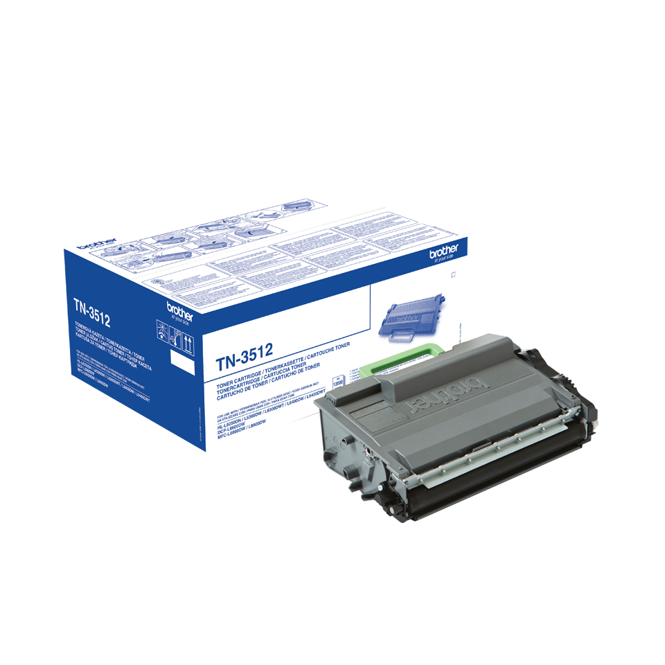 Brotn3512      Brother Tn3512 Black Toner     Hl-l6400dw/t Mfc-l6900dw/t                                   - UF01