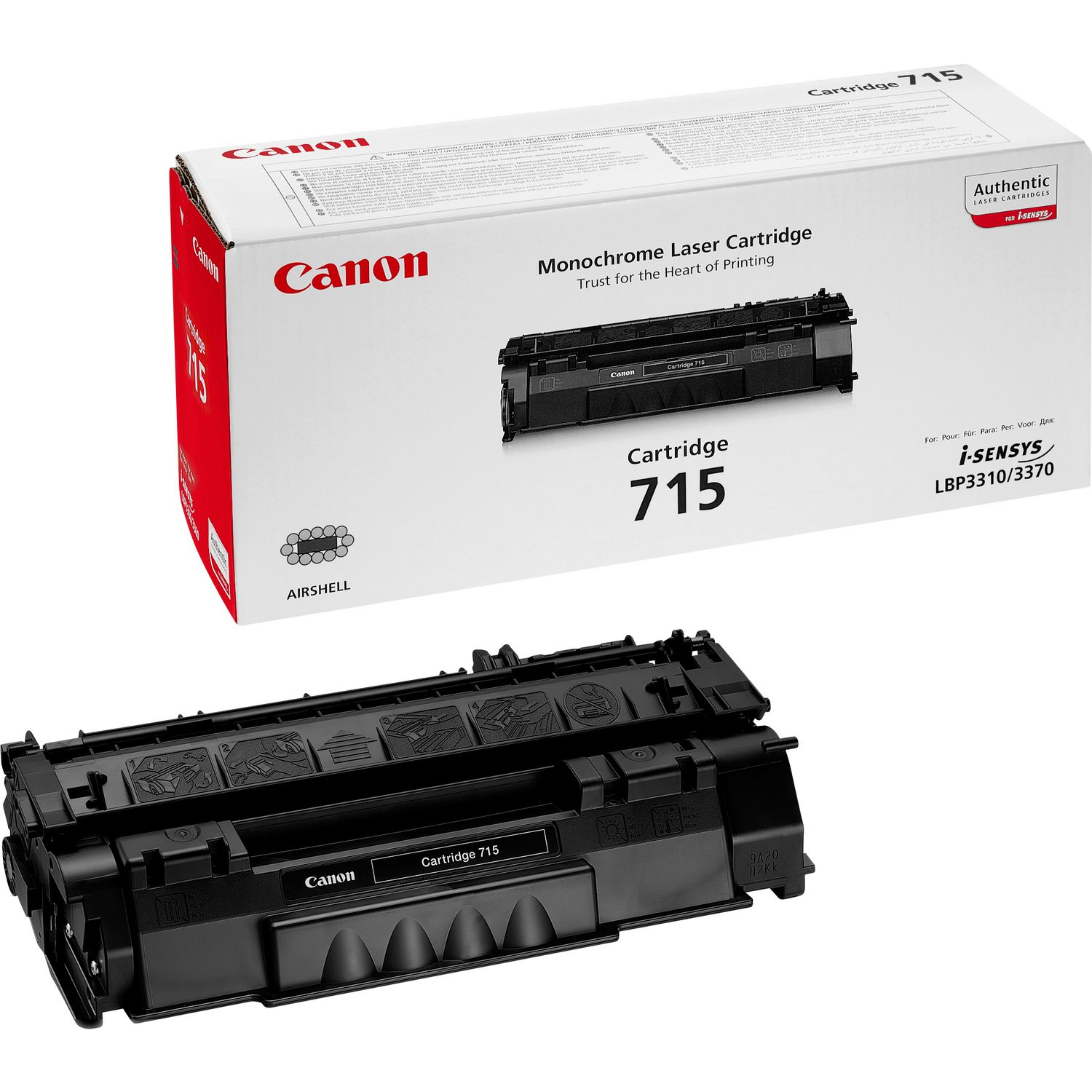 Canon 715 Black Toner 1975b002 - WC01