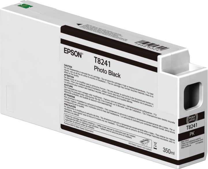 Epson T8241 Ink Cart Photo Black 350ml C13t824100 - AD01