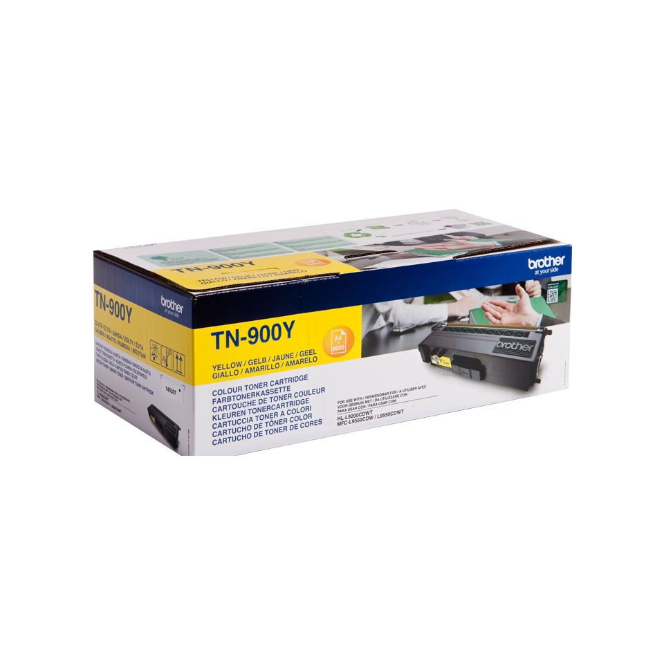 Brotn900y      Brother Tn900 Yellow Toner     6000 Pages                                                   - UF01