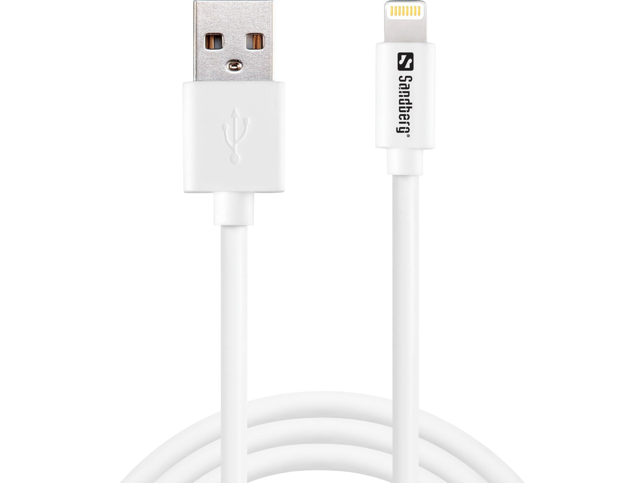 Sandberg USB>Lightning 2m AppleApproved  440-94 - eet01
