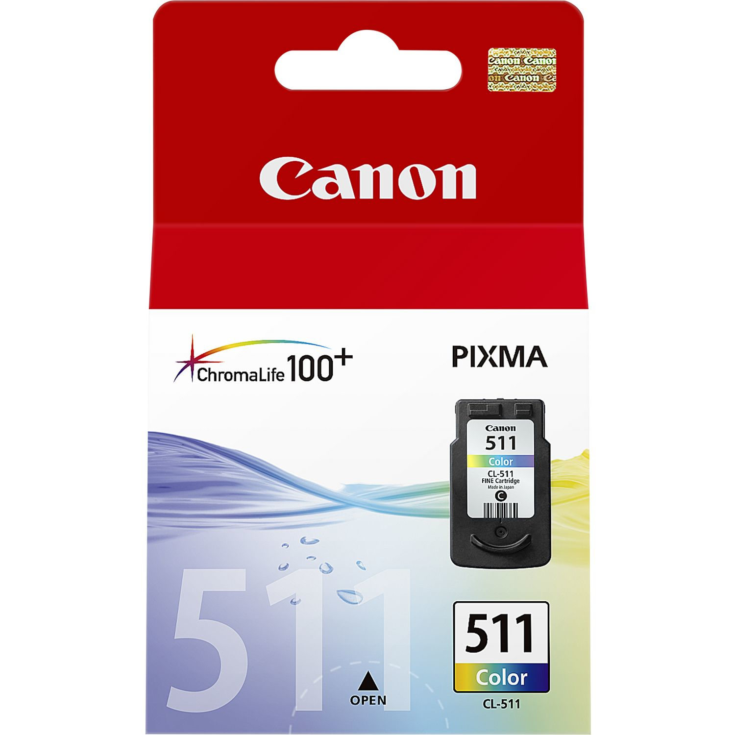 Canon Cl-511 Colour Ink 2972b001 2972b001 - WC01