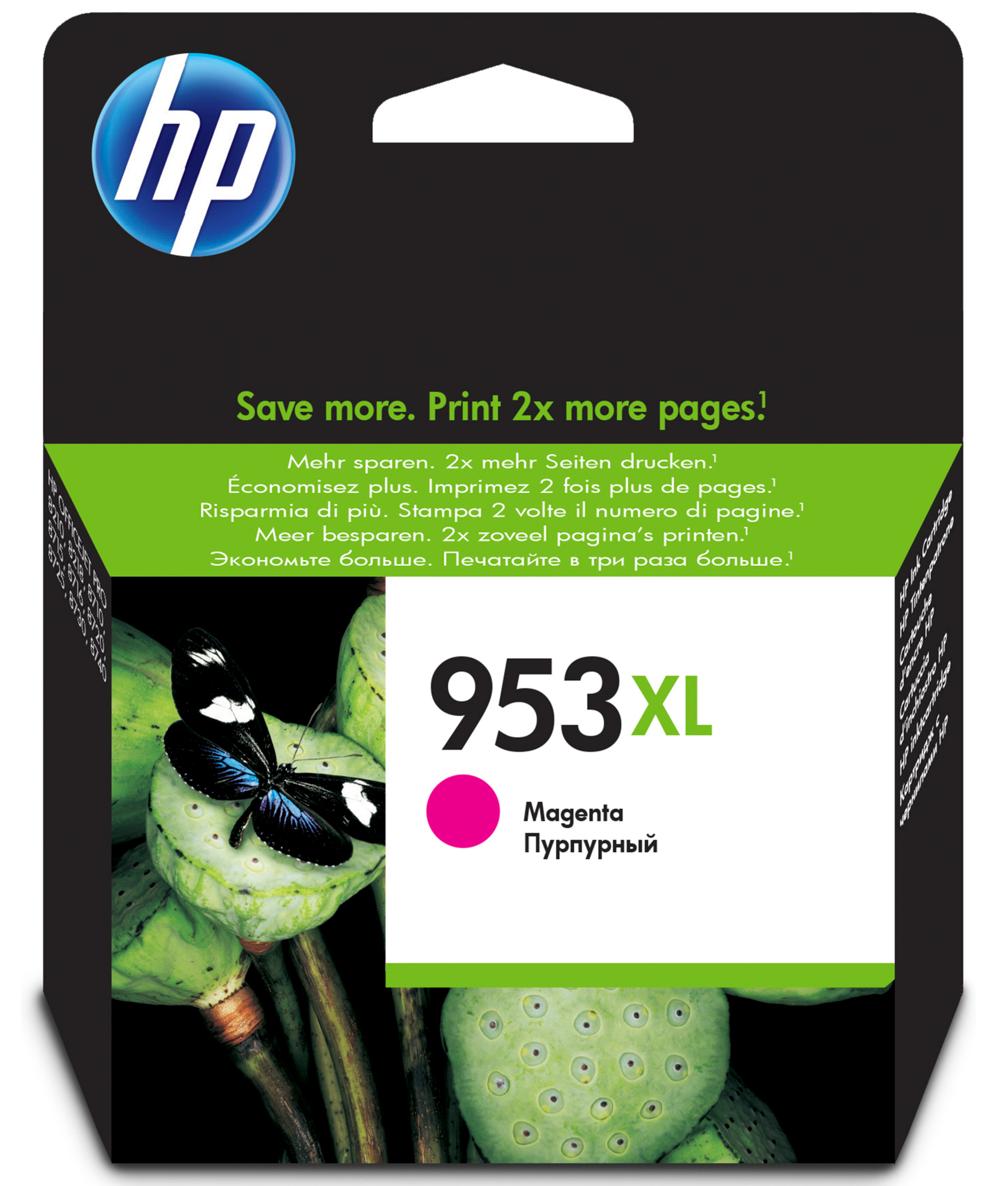 Hpf6u17ae      Hp 953xl Magenta Ink           High Yield                                                   - UF01
