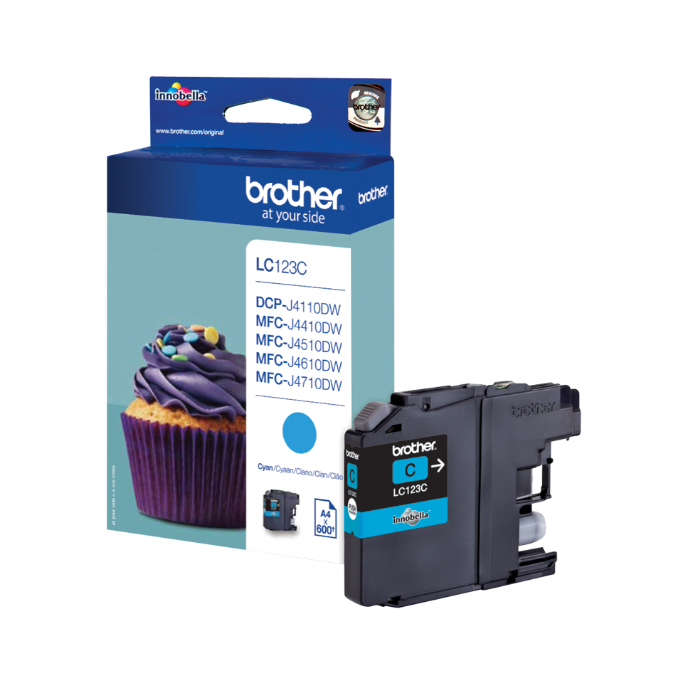 Brolc123c      Brother Lc123 Cyan             Ink Cartridge                                                - UF01