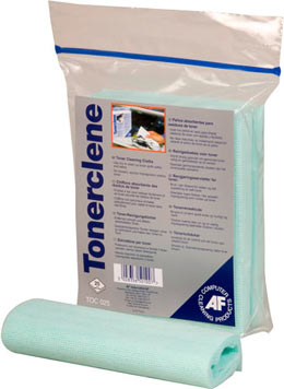 Aftoc025       Af Tonerclene Pack Of 25       Impregnated Cloths. Non- Smearing. Resealable Bag.           - UF01