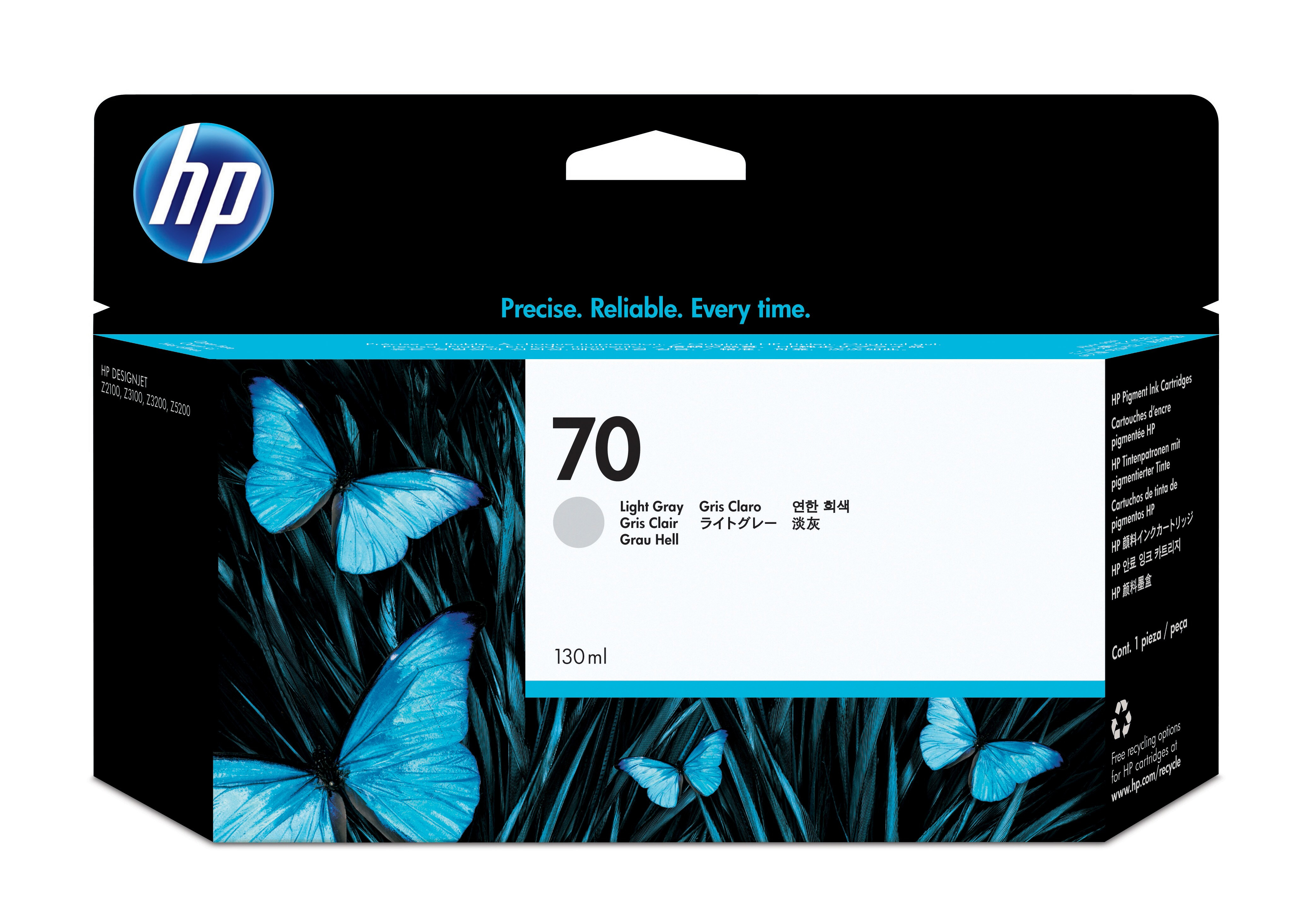 Hpc9451a       Hp 70 Light Grey Inkjet        Hp No.70                                                     - UF01