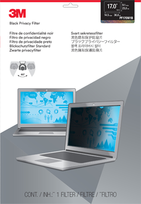 3m 17.0 Widescreen Laptop Pf Pf170w1b - WC01