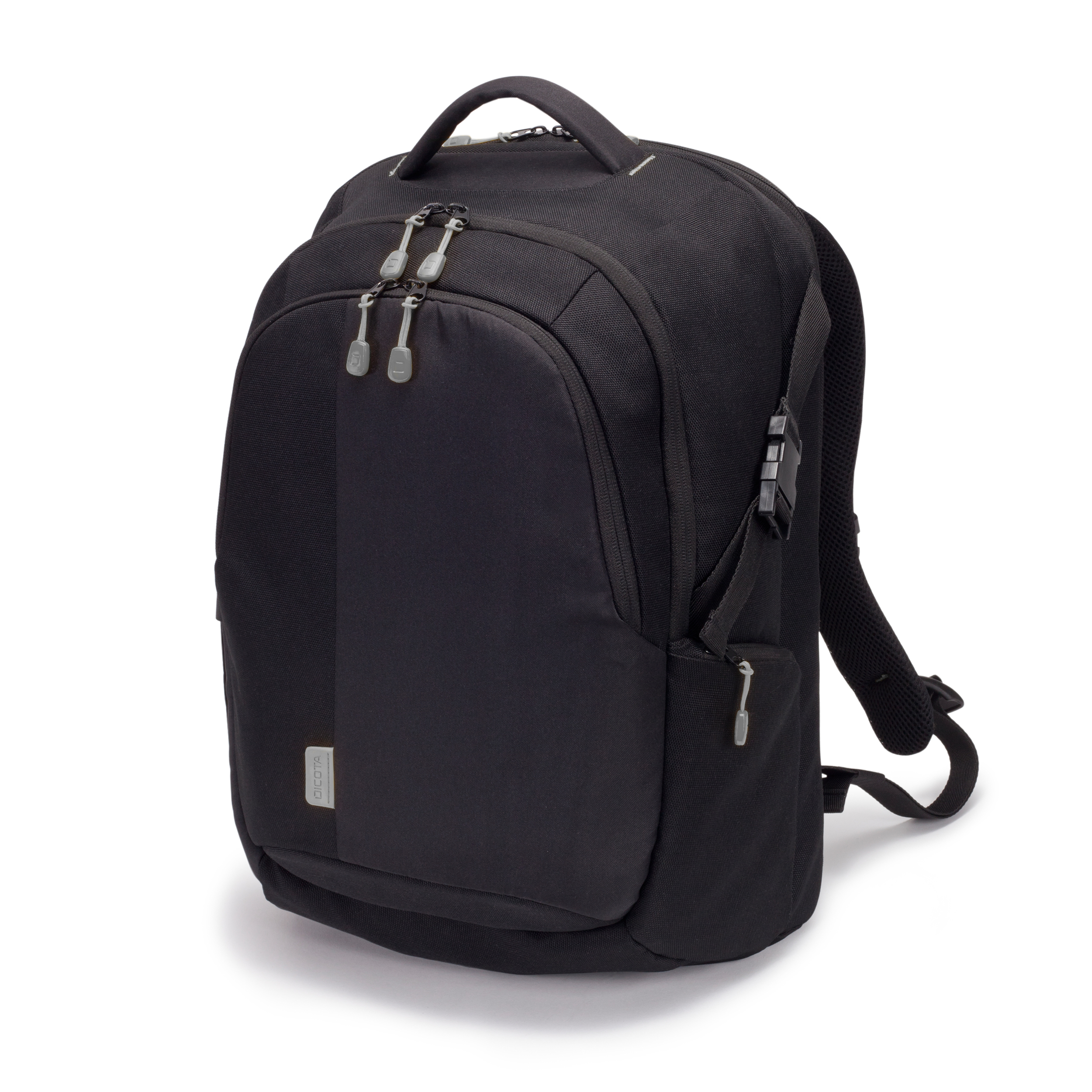 "Dicota Backpack ECO Laptop Bag 15.6"" BLACK Comes With A Removable Notebook Case With HDF (High Density Foam) Protection, With Hidden And Removable Rain Cover. It Is Mainly Madeof Recycled PET - C2000"