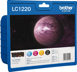 Brolc1220valbp Brother Lc1220 Value Pack      Lc1220                                                       - UF01