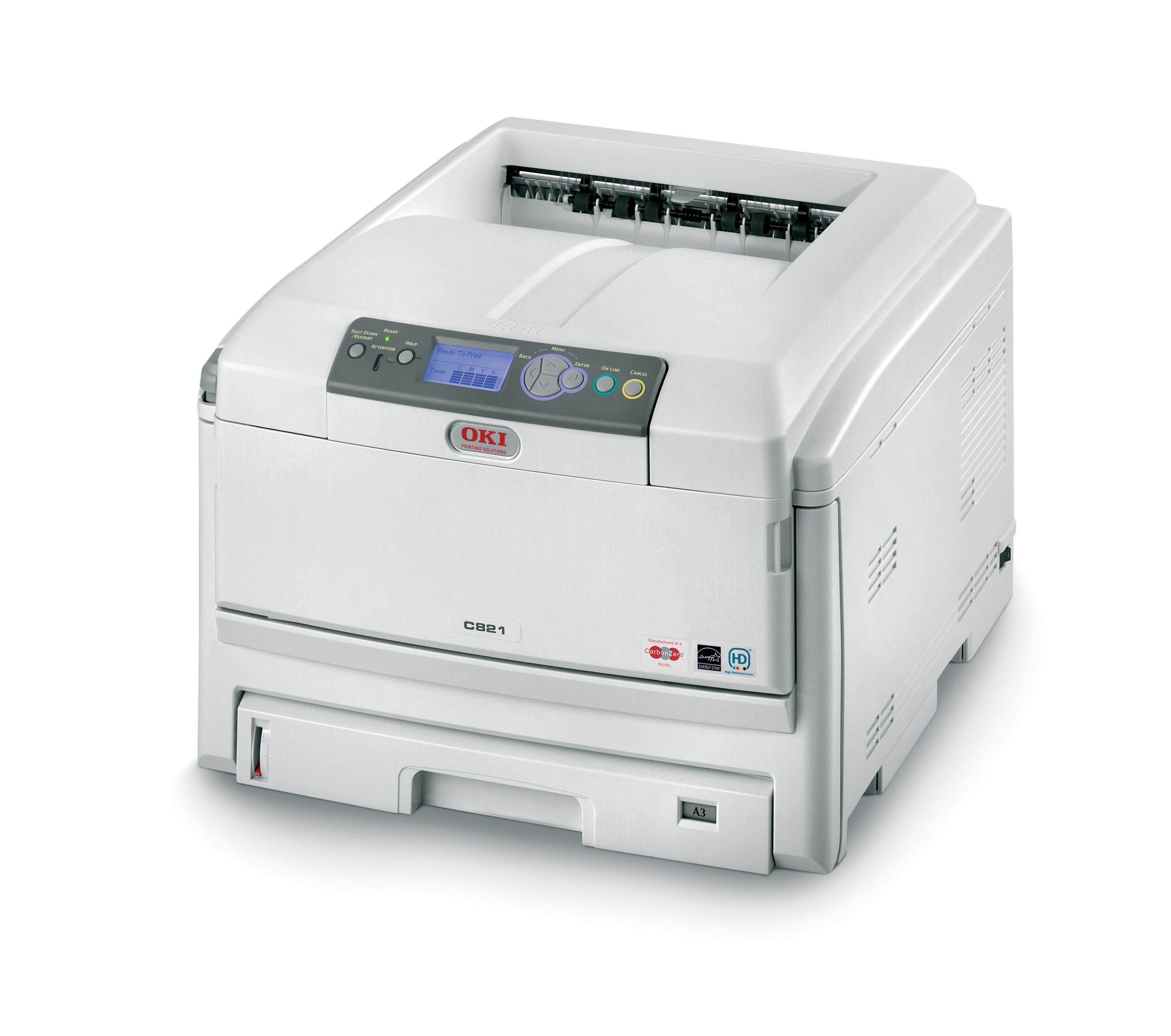 Oki C821n Colour Laser Printer 01289001 - Refurbished