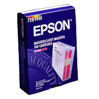 Compatible Epson C13S020143 (S020143) Light Magenta Ink Cartridge C13S020143 - rem01