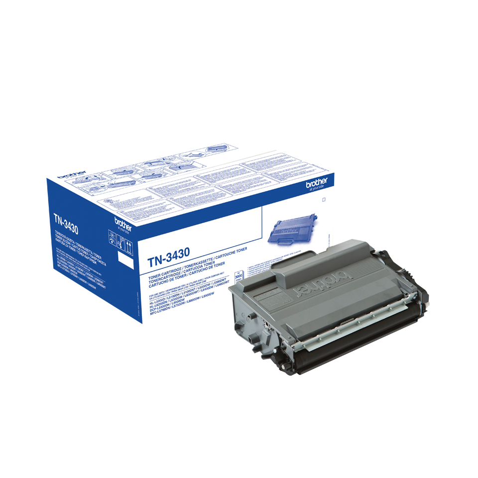 Compat Brother TN-3430 Toner Cart Blk 3k TN3430 - rem01