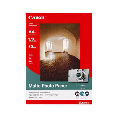 Can22529       Canon Mp-101 A4 50 Sheets      Photo Paper                                                  - UF01