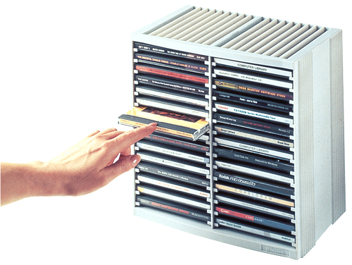 Cd Storage Spring Case For 30 Disks 9823003 - WC01