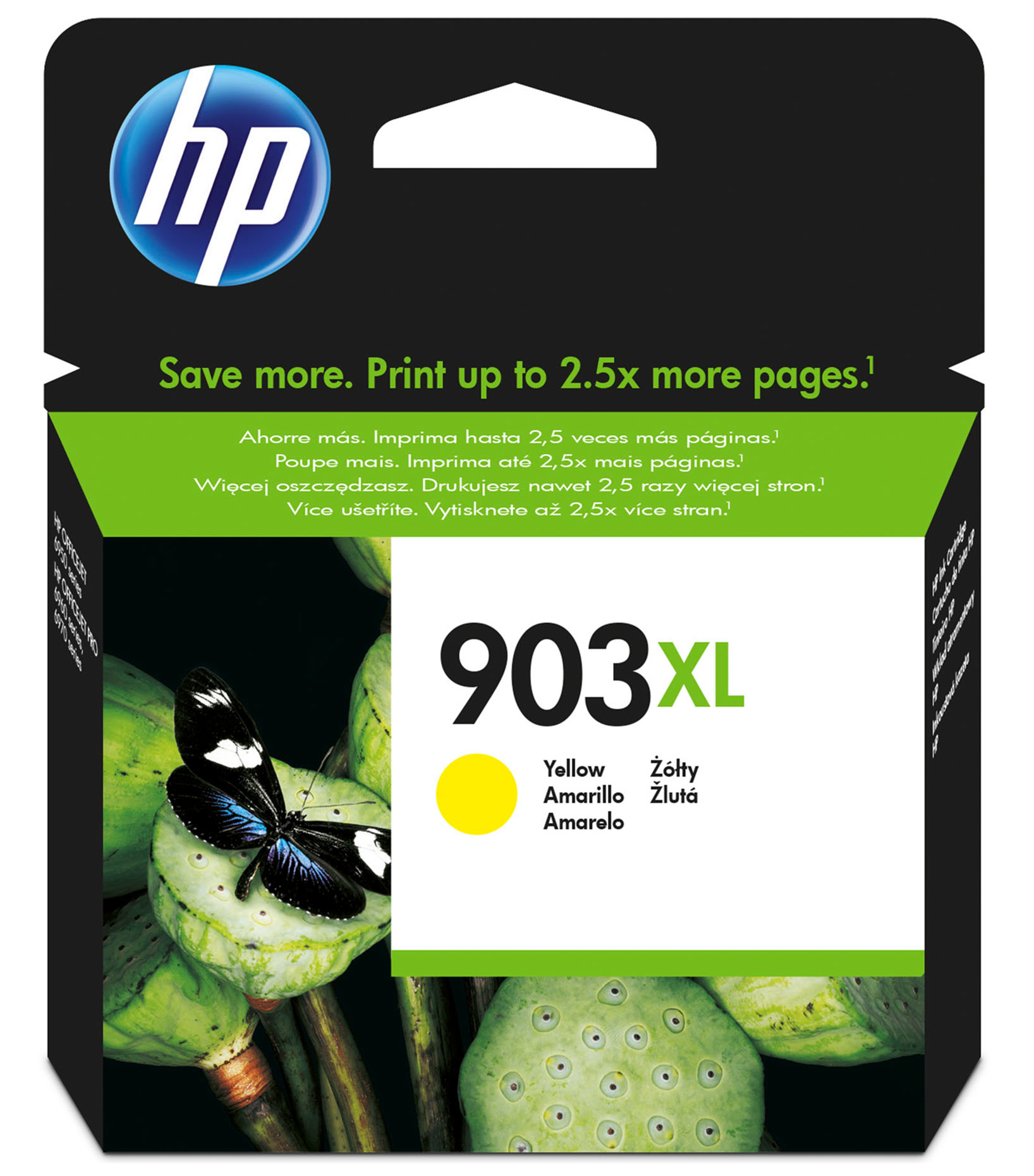 Hpt6m11ae      Hp 903xl Yellow Ink Cartridgee High Yield                                                   - UF01