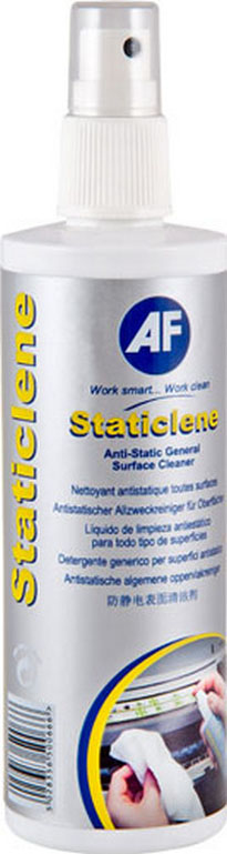 Afsta250d      Af Staticlene 250ml Pump Spray Anti Static Surface Cleaner                                  - UF01